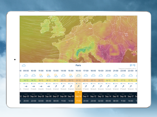 Ventusky: Weather Maps screenshot 17