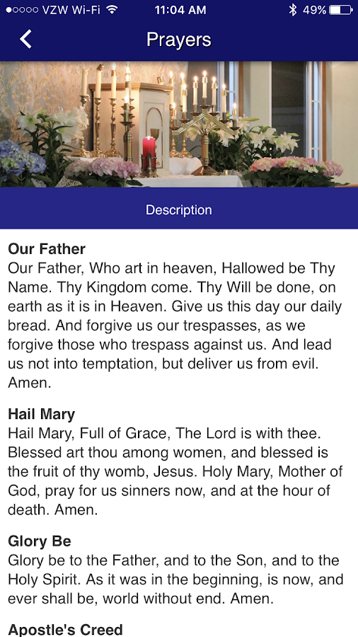Walla Walla Catholic Parishes- screenshot