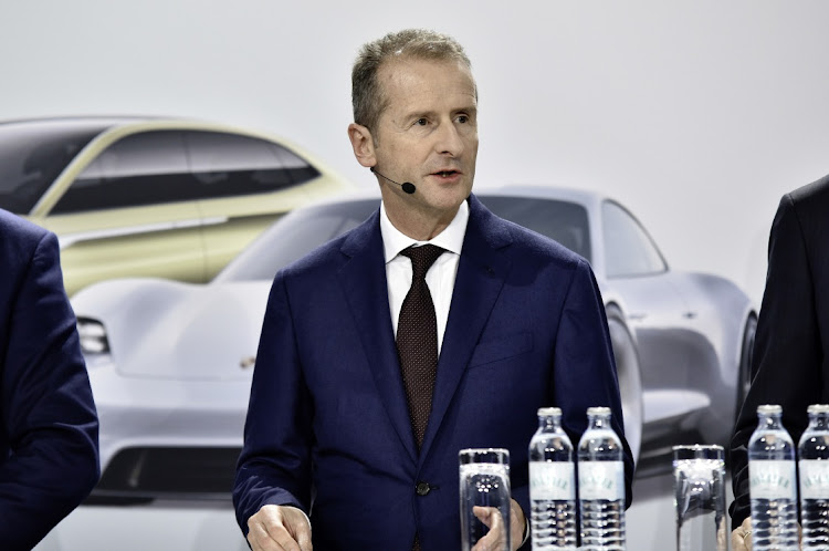VW CEO Herbert Diess. Picture: SUPPLIED