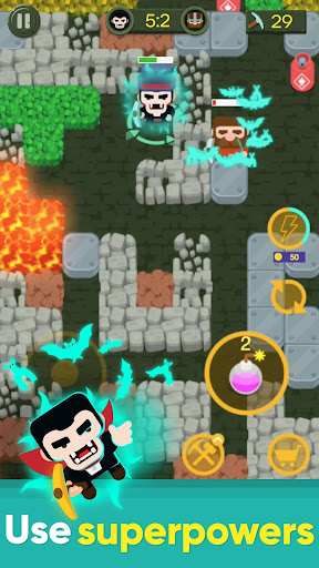 Dig Bombers: PvP multiplayer digging fight 3.3.3 screenshots 6