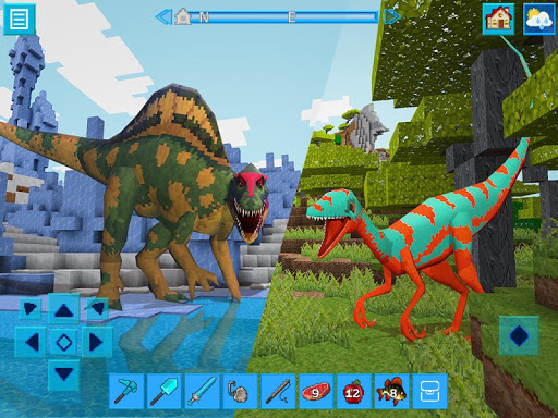 DinoCraft Survive & Craft Pocket Edition  screenshots 3