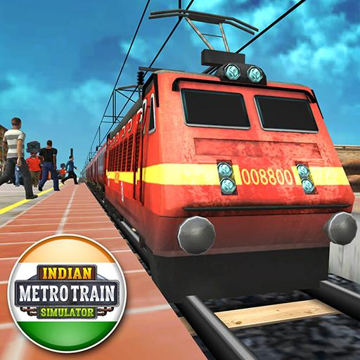 Indian Metro Train Simulator Icon