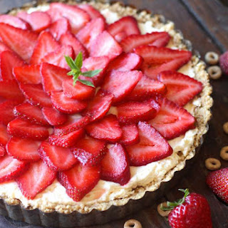No Bake Strawberry Cheesecake.