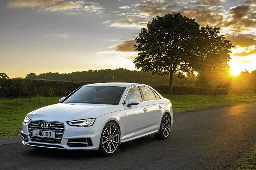 The Audi A4.    Picture: NEWSPRESS UK