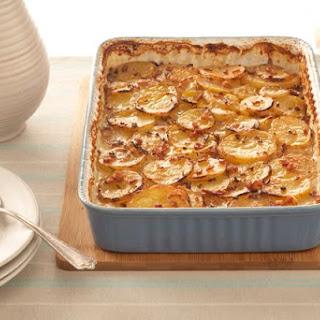 Bacon & Maple Scalloped Potatoes.
