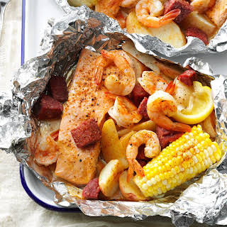 Cajun Boil on the Grill.