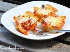 Lasagna Cups Recipe