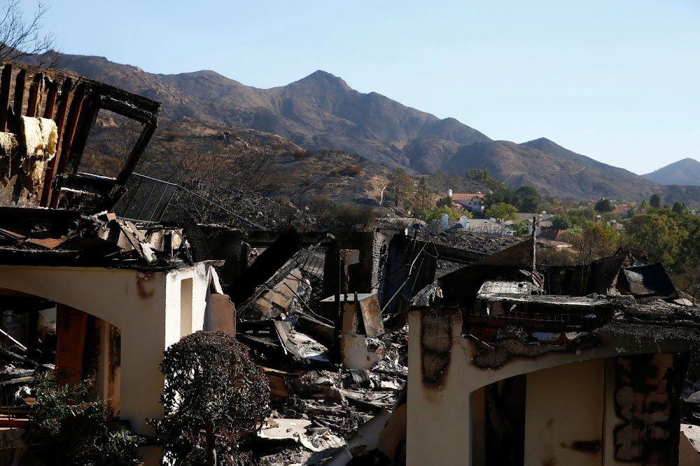 California wildfires leave survivors' mental health in tatters