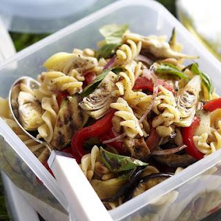 Mediterranean Vegetable and Fusilli Salad