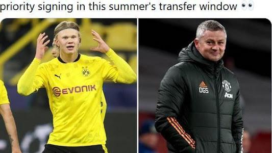 Jawaban Terbaru Erling Haaland soal Kabar Menuju Man United, Sinyal di Bursa Transfer - Bolasport.com
