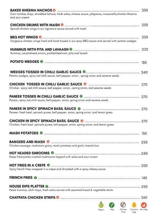 Dcrepes Cafe menu 8