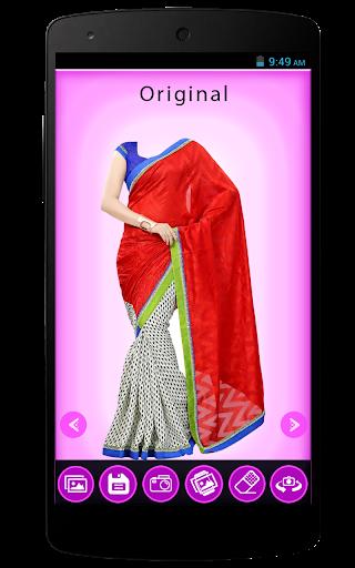 Indian Women Fancy Saree Shoot
