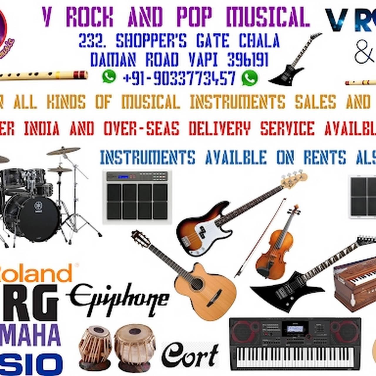 V ROCK AND POP MUSICAL - Musical Instrument Shop in Vapi