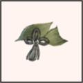 笹の葉の襟