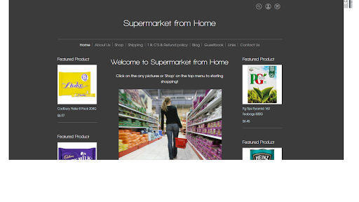 Supermarket from Home