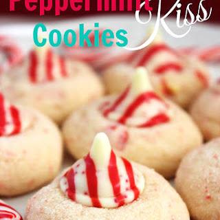 Peppermint Kiss Cookies