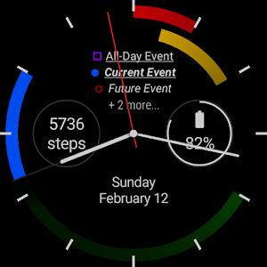 First - a Calendar Watchface