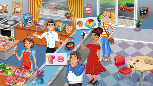 Cooking Delight Cafe- Tasty Chef Restaurant Games 1.6 screenshots 4