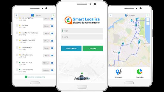 Smart Localiza - náhled