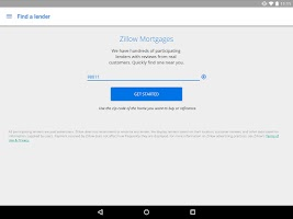Screenshot of Zillow Mortgage Calculator