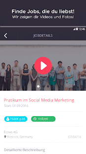 JobUFO - your video your job - náhled
