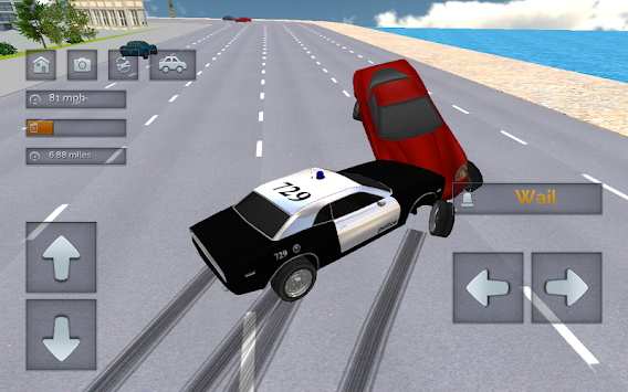 Police Chase - The Cop Car Driver APK screenshot thumbnail 4