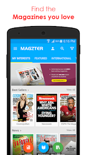 Magzter - Reading Destination- screenshot thumbnail