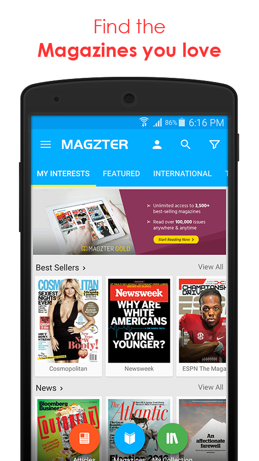 Magzter - Reading Destination- screenshot