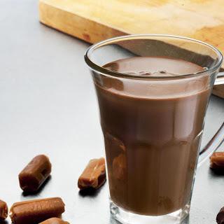 Caramel Hot Chocolate.