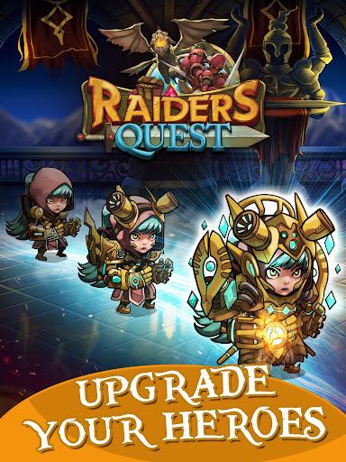 Raiders Quest RPG 1.8.10 screenshots 11