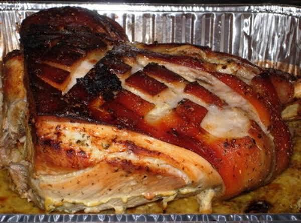 Cuban Style Pork Roast With Mojo Criollo Aka Lechon Asado Con Mojo Recipe