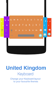 United Kingdom Keyboard - náhled