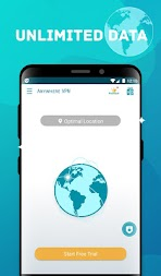 Anywhere VPN -Secure Free Unlimited VPN Proxy WiFi APK screenshot thumbnail 2