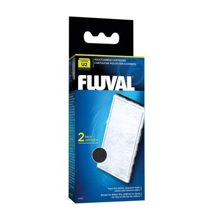 Kol/Polyester Filterpatron Fluval U2