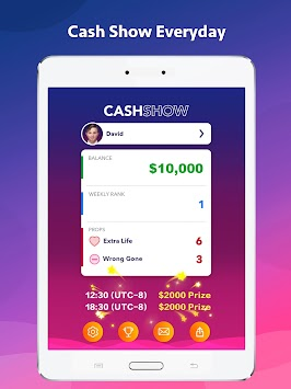 Cash Show - Win Real Cash! APK screenshot thumbnail 8