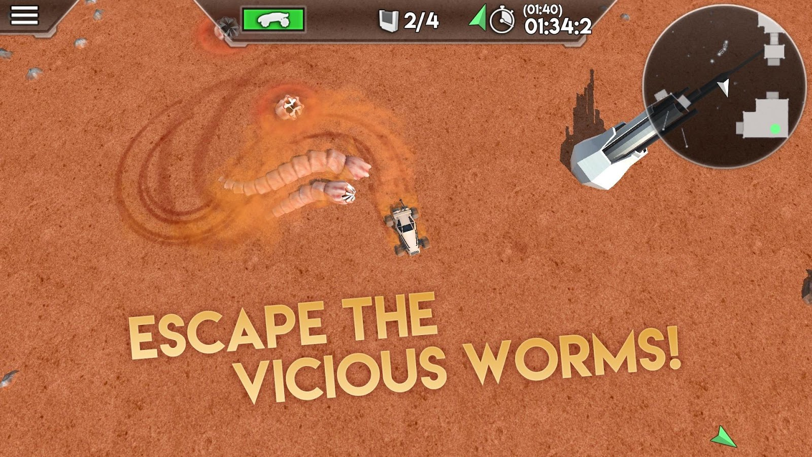 Desert Worms- screenshot