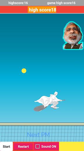Modi Pong new game  captures d'u00e9cran 2