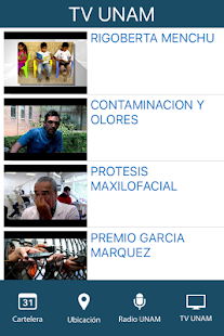 Cultura UNAM- screenshot thumbnail