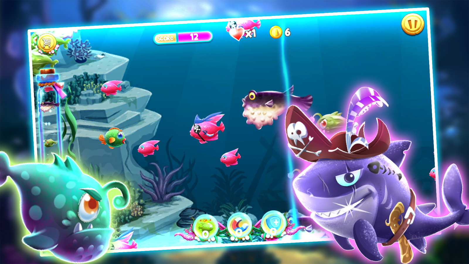 Fishing frenzy feeding fish game android apps on for The fish game