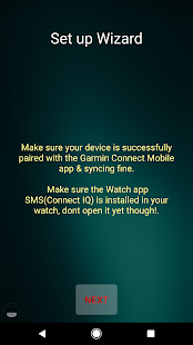 SMS (Connect IQ) Screenshot