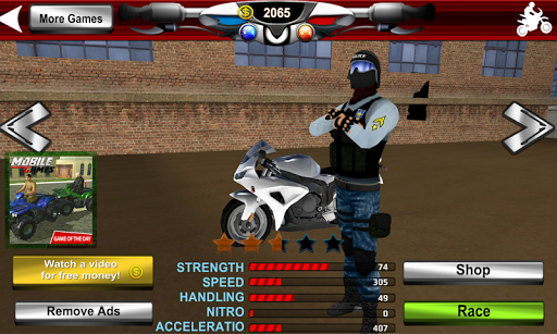 Police Motorcycle Crime Sim screenshot 5