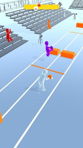 Basketball Race 3D 2.1 screenshots 1