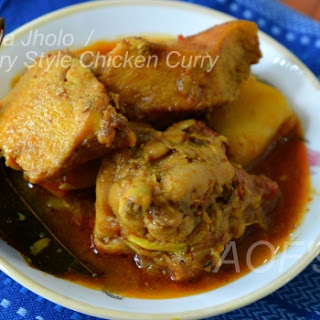 Country Style Chicken Curry (Odisha Special)