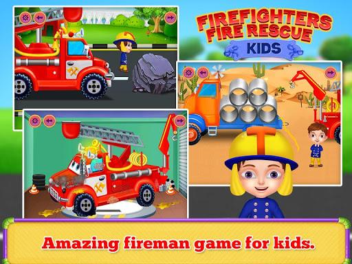 Firefighters Fire Rescue Kids  screenshots 8