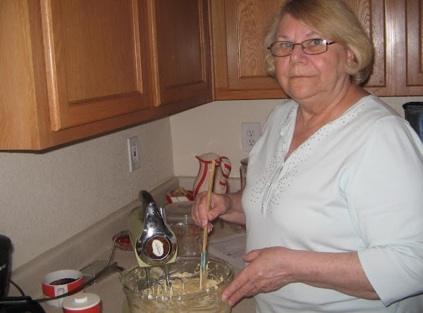 Using an electric mixer; cream shortening and sugars. Add eggs, one at a time...