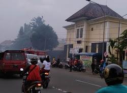 Kebakaran kios di Pasar Beran Ngawi