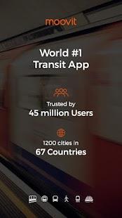 Moovit: #1 Transit App Screenshot 1