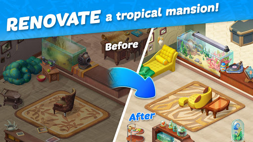 Hawaii Match-3 Mania Home Design & Matching Puzzle screenshot 15