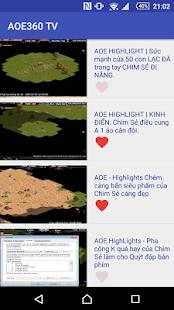 AOE 360 TV - náhled