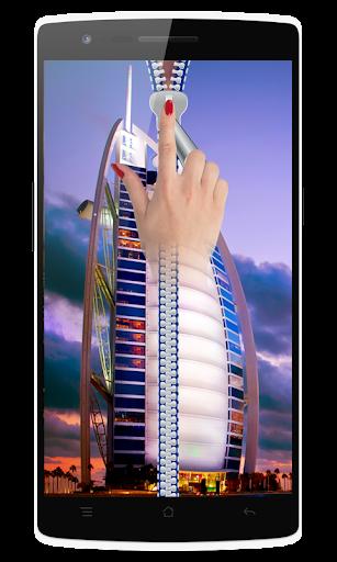 Dubai Zipper Screen Lock
